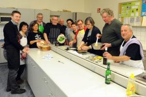 Kochen @ Lehrküche- Oberschule Calberlah
