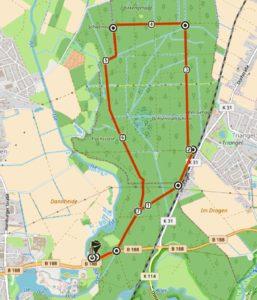 """Wanderung """"der Dragen zwischen Triangel und Gamsen"""" @ Treffpunkt: B 188 Jägerhof / Morada Hotel Isetal am Info-Schild"""