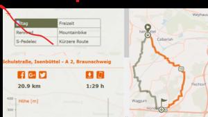 Fahrradrunde Isenbüttel-Hondelage